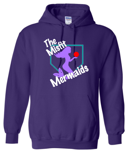 Purple Gildan Heavy Blend™ Crewneck Sweatshirt