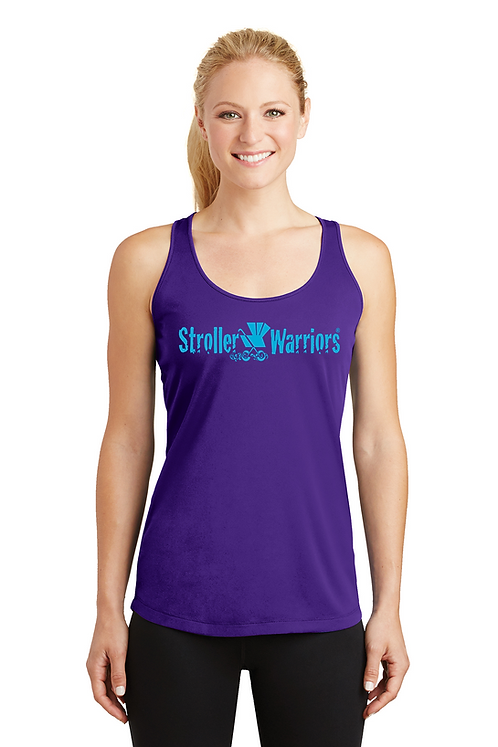 Purple Sport-Tek® Ladies PosiCharge® Competitor™ Racerback