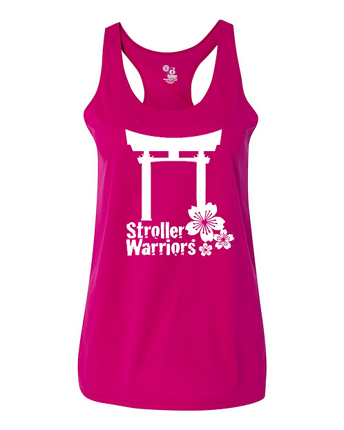 Hot pink Badger - B-Core Women's Racerback Tank Top