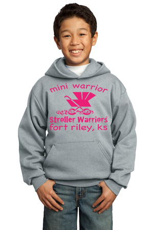 Port &Company® - Youth Core Fleece Pullover Hooded Sweatshirt