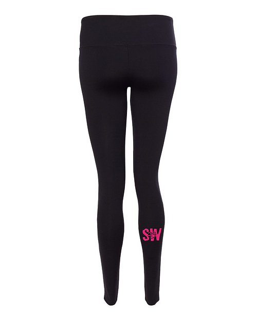 Black All Sport - Women's Full Length Leggings