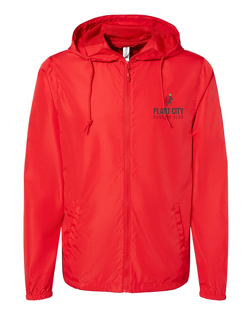 Red Independent Trading Co. - Water-Resistant Lightweight Windbreaker