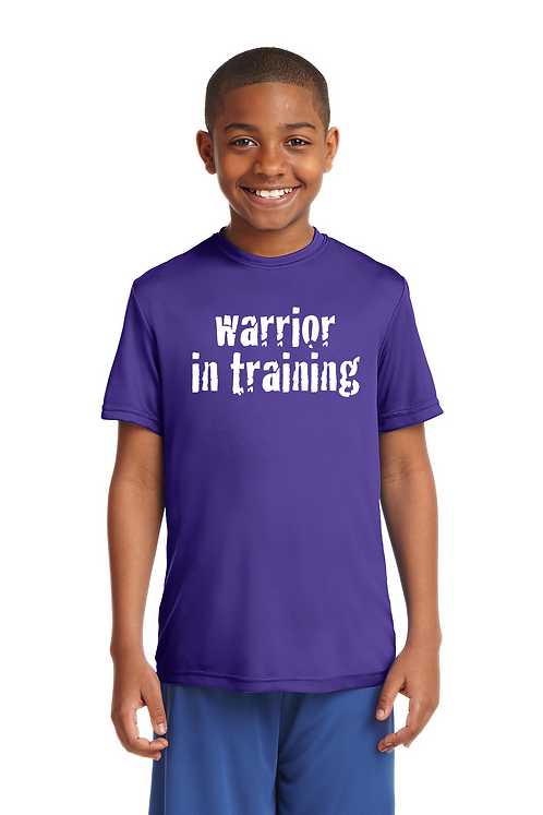 Purple Sport-Tek® Youth PosiCharge® Tough Tee