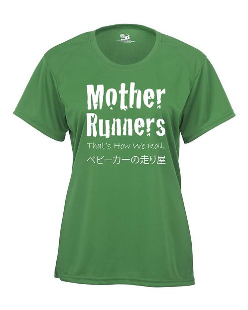 Kelly green Badger - B-Core Women's Crewneck T-Shirt