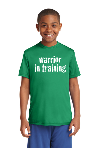 Kelly green Sport-Tek® Youth PosiCharge®Competitor Tee