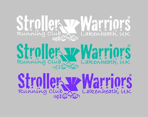 Stroller Warrior® Running Club Lakenheath, UK Decal