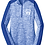Thumbnail: Royal electric Sport-Tek® Ladies PosiCharge® Electric Heather Colorblock