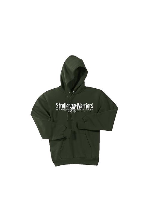Olive Port & Company® - Core Fleece Pullover Hooded Sweatshirt