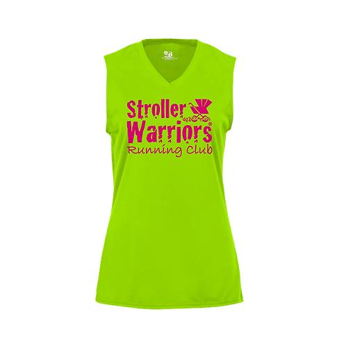 Lime Badger - B-Core Women's Sleeveless T-Shirt