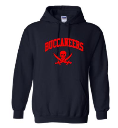 Navy Gildan Heavy Blend™ Crewneck Sweatshirt