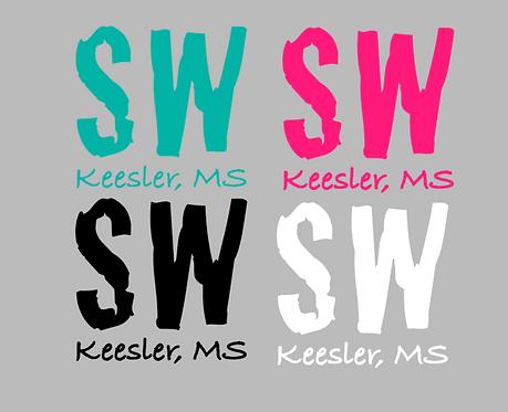 Keesler, MS Decal