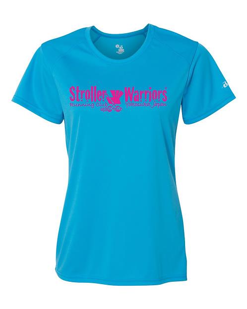 Electric blue Badger - B-Core Women's Crewneck T-Shirt