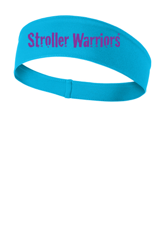 Atomic blue Sport Tek Posi-Charge Competitor headband