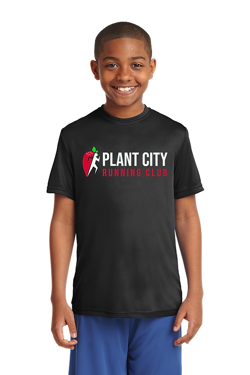Black Sport-Tek® Youth PosiCharge®Competitor Tee