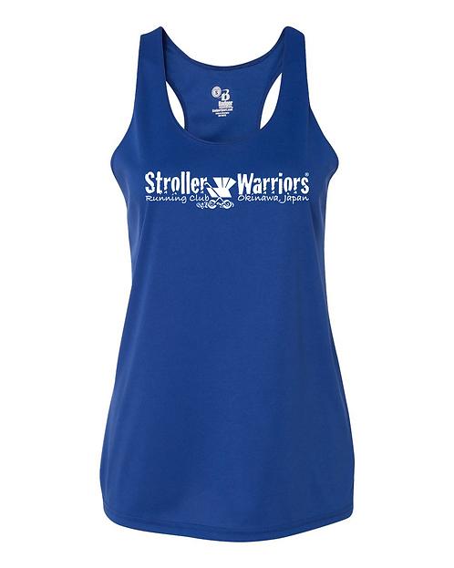 Royal blue  Badger - B-Core Women's Racerback Tank Top