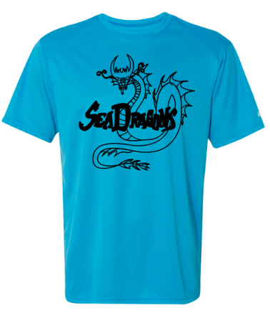 Electric  blue Badger - B-Core Mens Short Sleeve T-Shirt