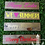 Thumbnail: Welcome Holiday Hanger Wooden Sign, 4 Hanger