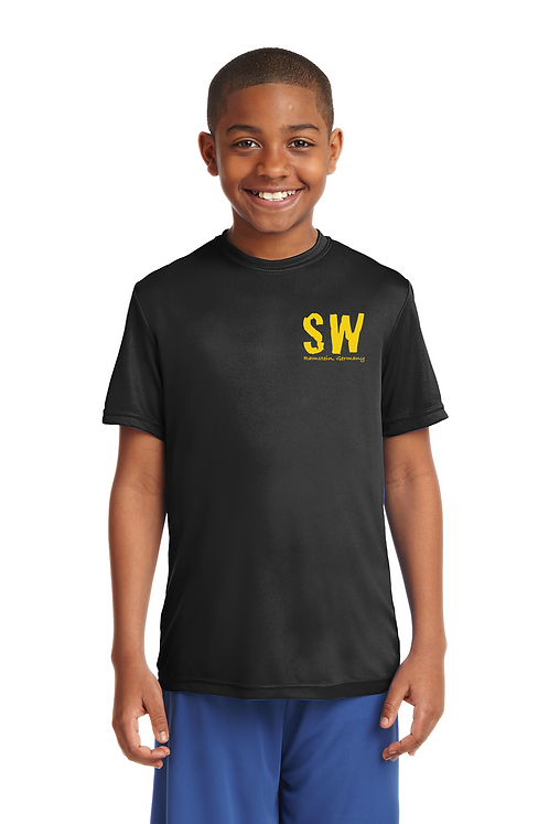 Black Sport-Tek Youth PosiCharge Competitor™ Tee