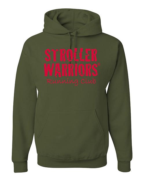 Military Green Jerzees - NuBlend Hooded Sweatshirt
