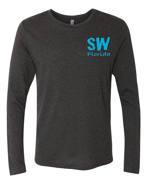 Vintage Black Next Level Triblend Long Sleeve Crew