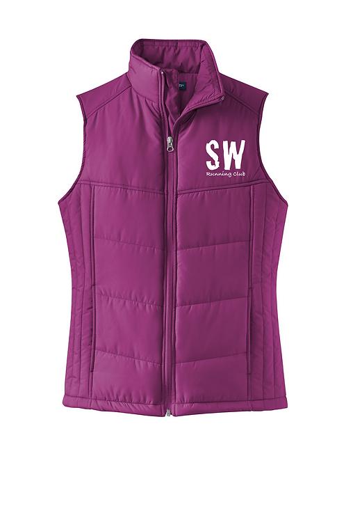 MEDIUM Berry Port Authority® Ladies Puffy Vest