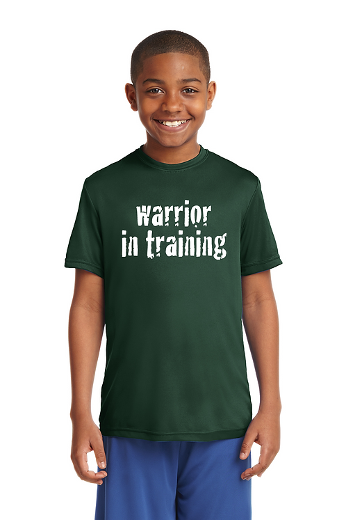 Forest green Sport-Tek® Youth PosiCharge® Tough Tee