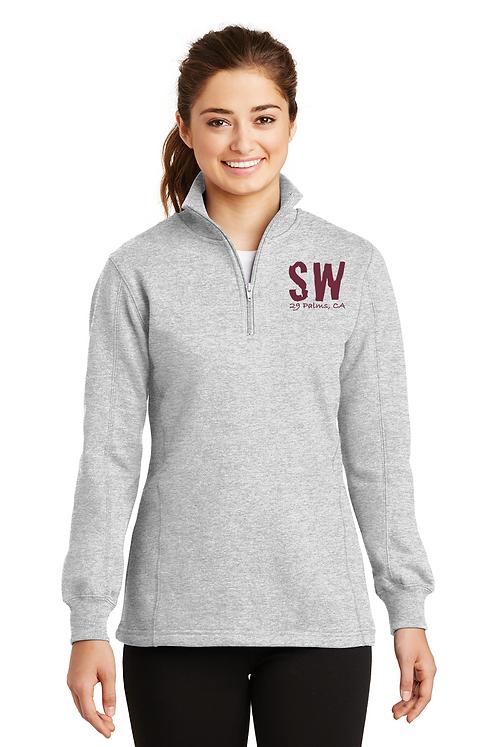 Sport-Tek® Ladies 1/4-Zip Sweatshirt