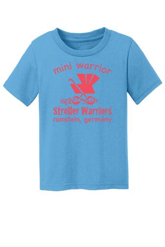 Aquatic blue  Port &  Company® Toddler Core Cotton Tee