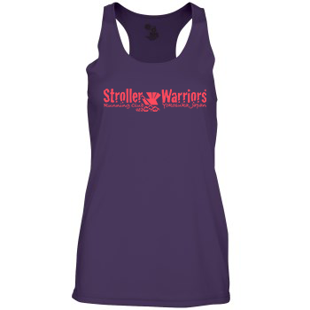 Purple  Badger - B-Core Women's Racerback Tank Top