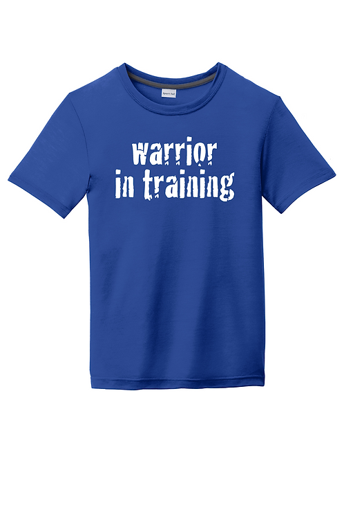 Royal blue Sport-Tek® Youth PosiCharge® Competitor™ Cotton Touch™ Tee