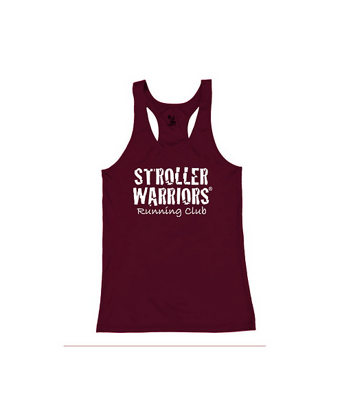 Maroon Badger B-Core Women's Racerback Tank Top
