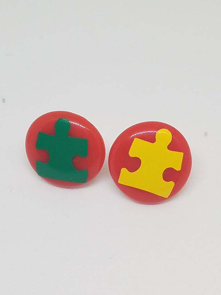Autism Support Earrings