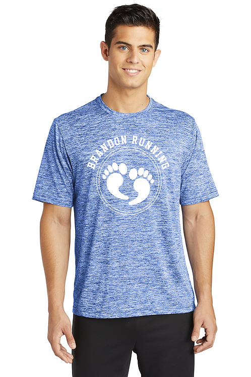 Royal electric Sport-Tek® PosiCharge® Electric Heather Tee
