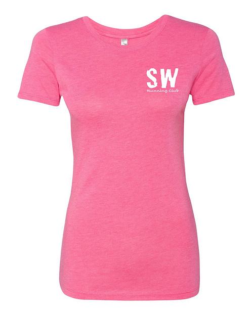 Vintage Pink Next Level - Women's Triblend Crew