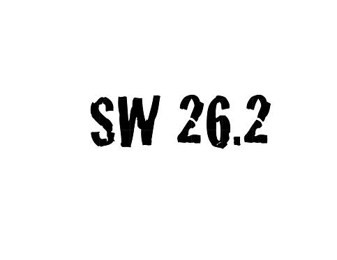Stroller Warriors® SW 26.2 Decal