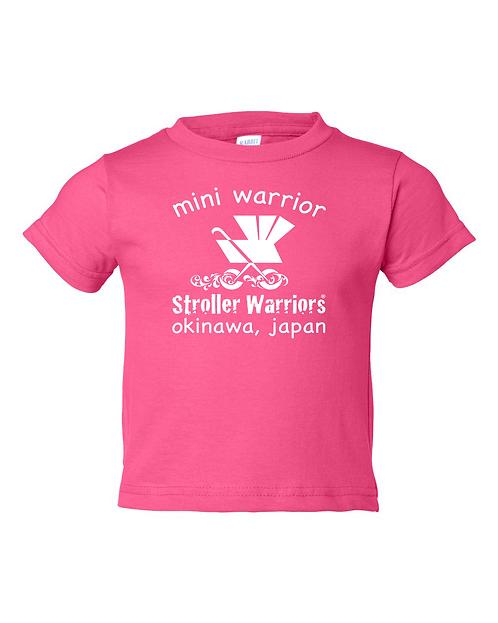 Hot pink Rabbit Skins - Toddler Cotton Jersey Tee