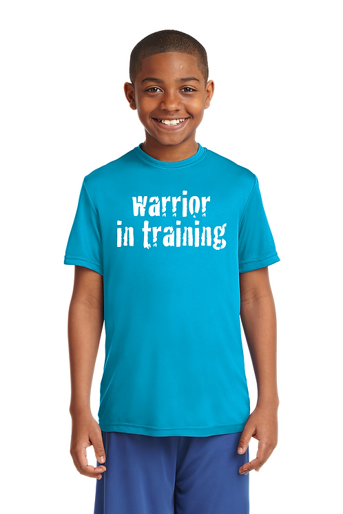 Atomic blue Sport-Tek® Youth PosiCharge®Competitor Tee