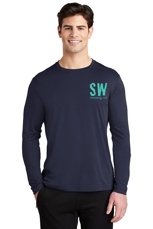 Navy blue Sport-Tek ® Posi-UV™ Pro Long Sleeve Tee