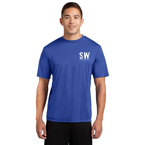 True Royal Sport Tek Posi-Charge Competitor Tee