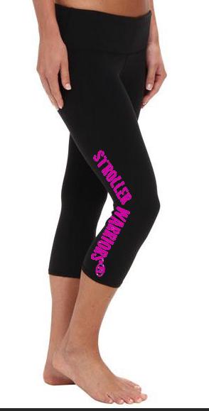 Black All Sport Women's Capri Legging