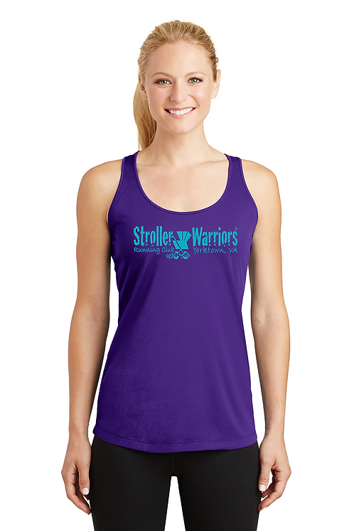 Purple Sport-Tek® Ladies PosiCharge® Competitor™ Racerback