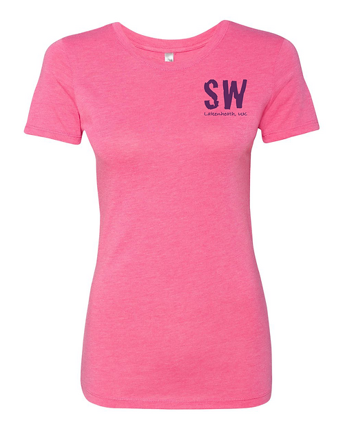 Vintage pink Next Level - Women's Triblend Crew