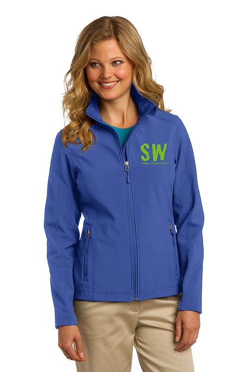 True Royal Port Authority® Ladies Core Soft Shell Jacket