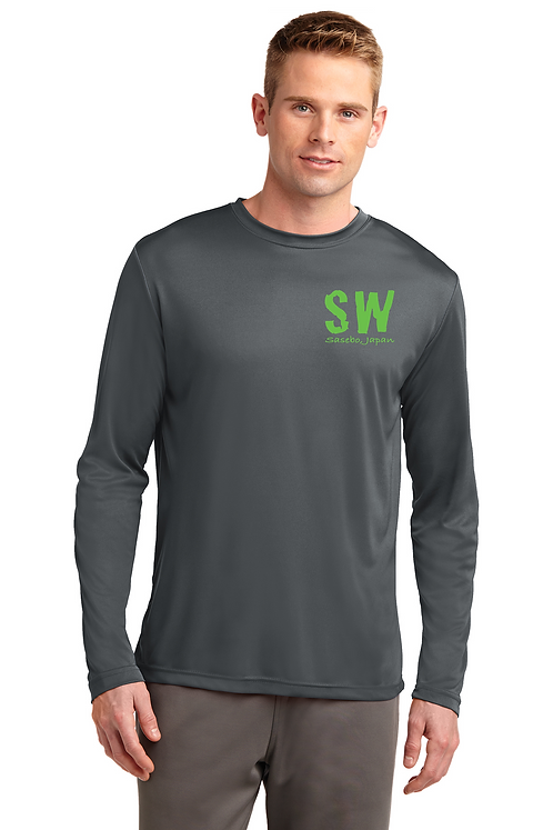 Iron Gray Sport-Tek® Long Sleeve PosiCharge® Competitor™ Tee