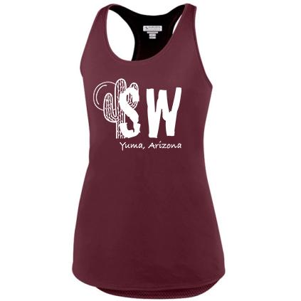 Maroon Augusta Sportswear - Women's Sojourner Tank