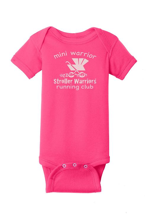 Raspberry Rabbit Skins™ Infant Short Sleeve Baby Rib Bodysuit