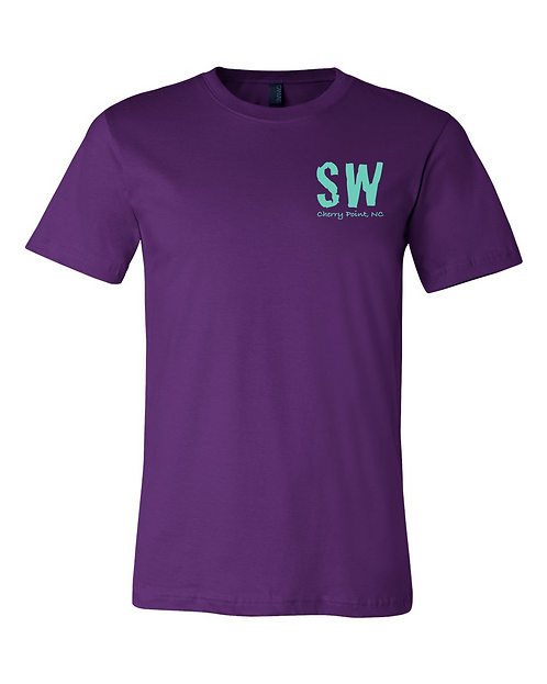 Purple Bella + Canvas - Unisex Short Sleeve Jersey Tee