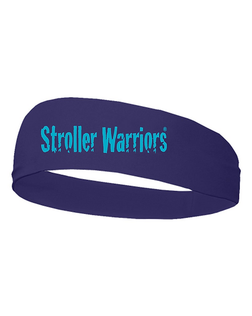 Purple Badger - Wide Headband