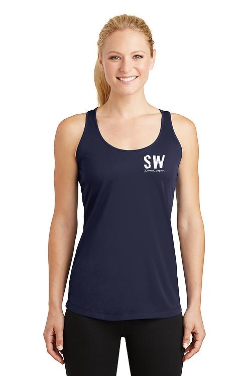 True Navy Sport-Tek® Ladies PosiCharge® Competitor™ Racerback