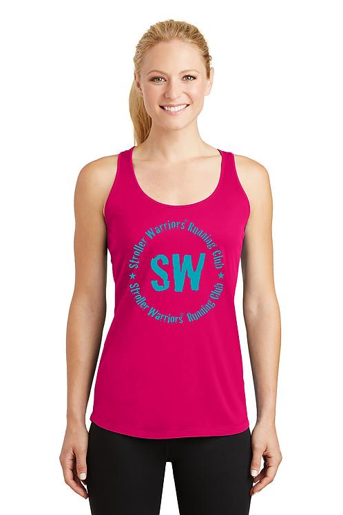 Pink Raspberry Sport-Tek® Ladies PosiCharge® Competitor™ Racerback